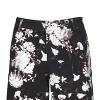 Floral twill shorts, £35
