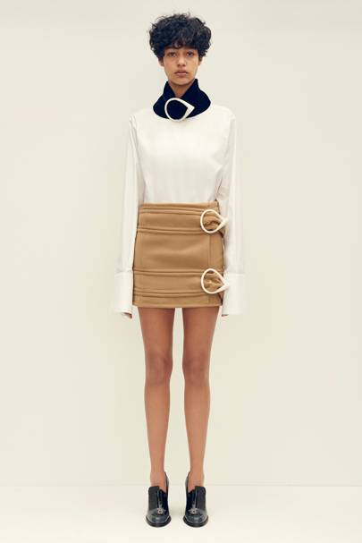 The Buckle Mini Skirt