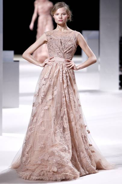 Elie Saab Spring Summer 2011 Couture Show Report British Vogue
