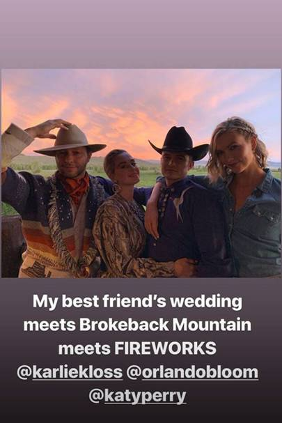 Karlie Kloss Threw A Wild West-Themed Reception 8 Months After Her Wedding