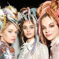 When Marc Jacobs caused controversy with the rainbow dreads at his SS17 show