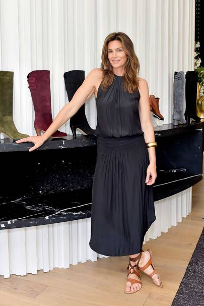 Cindy Crawford x Sarah Flint launch, Beverley Hills - April 10 2018