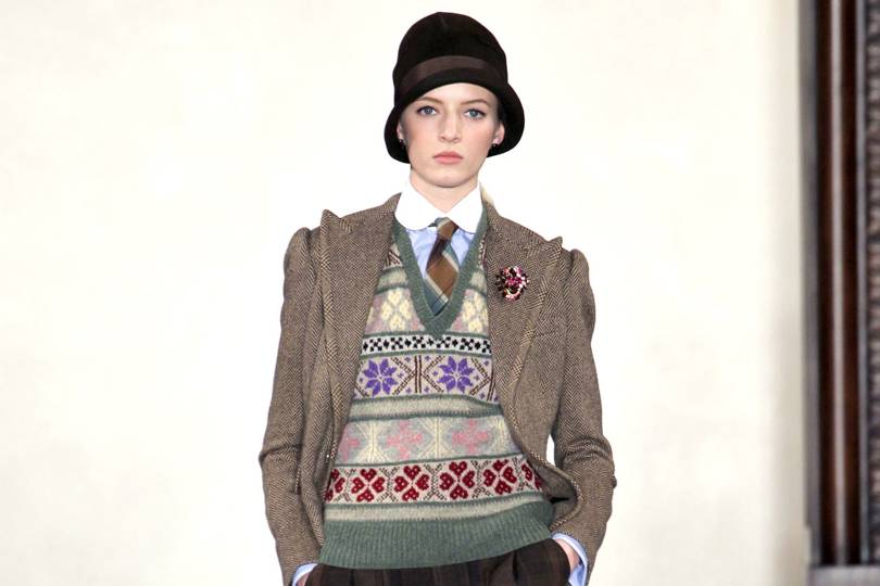 b7b581f7 Ralph Lauren Autumn/Winter 2012 Ready-To-Wear show report | British Vogue