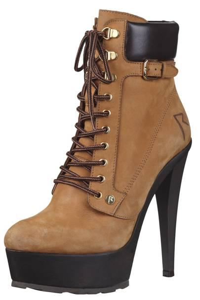 Heeled boots, £120