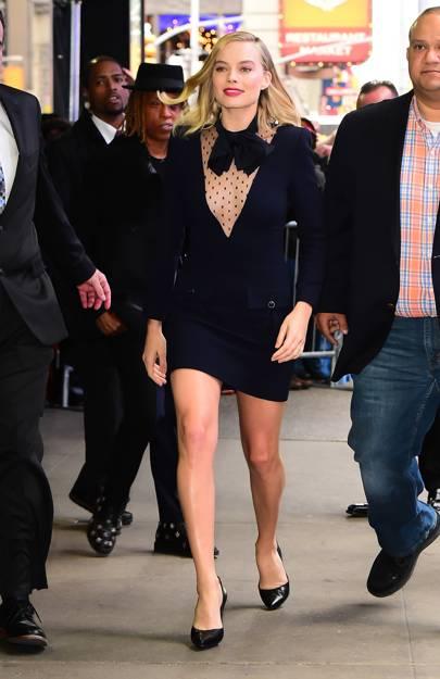 Leaving 'Good Morning America', New York – November 30 2017