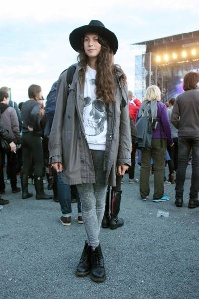 Maria Davila, film production assistant