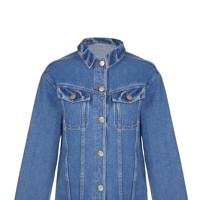 Oversize denim jacket, £60