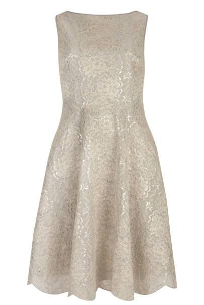 Lace dress, £249