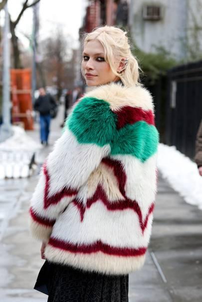 Aline Weber, model