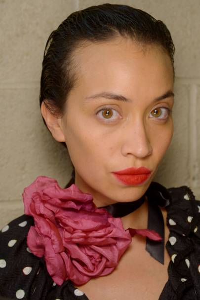 French Red Lips