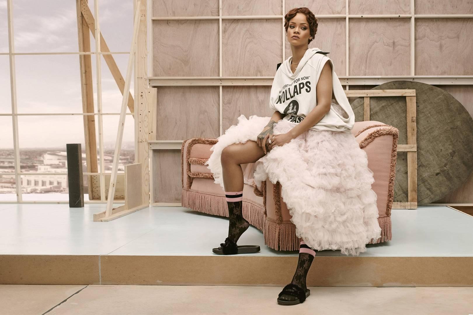 Watch Rihanna Designs Socks Now video