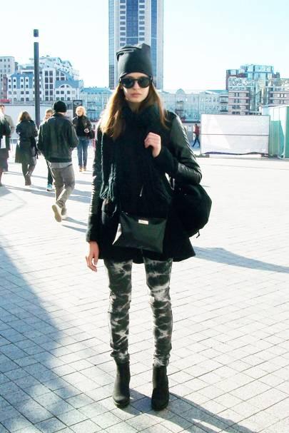 Kristina Buriok, model