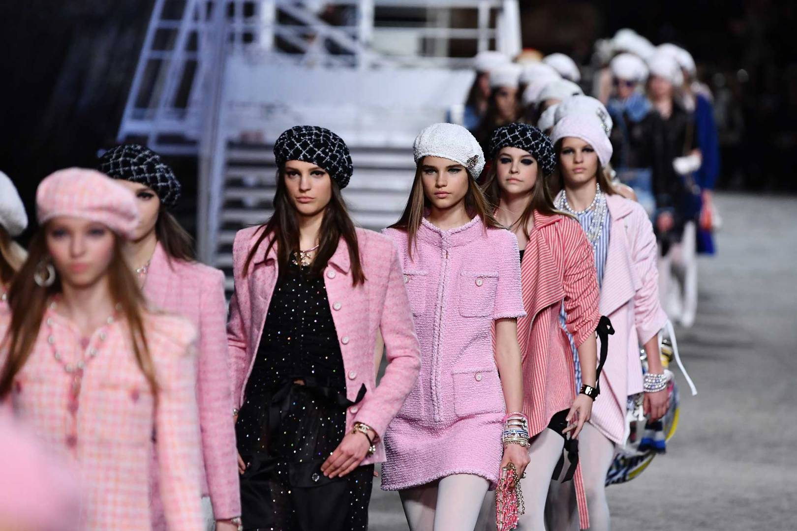 82830484249ba Chanel Cruise  Captain Karl is Inspired by the Sea