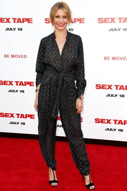 Sex Tape premiere, LA - July 10 2014