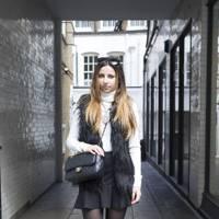 Megan Elman, fashion student