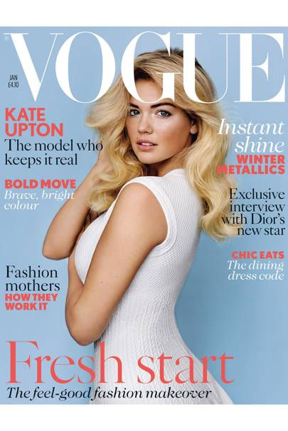 Vogue cover, January 2013