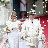 Charlene Wittstock and Prince Albert