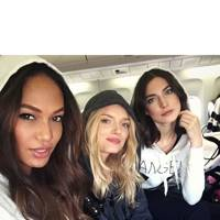 Joan Smalls, Lily Donaldson and Jacquelyn Jablonski