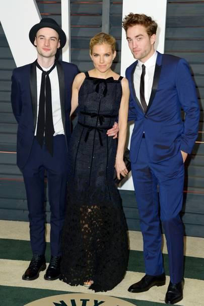 Tom Sturridge, Sienna Miller and Robert Pattinson