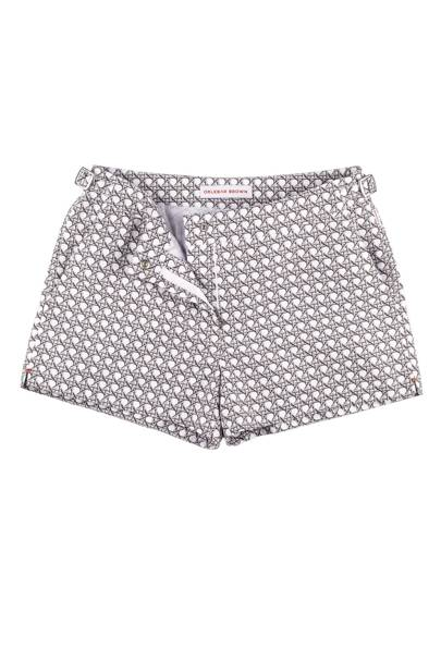 Whippet wicker-print shorts, £150