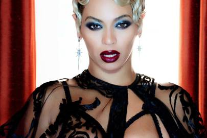 Beyoncé in a still from her video for Haunted, 2013