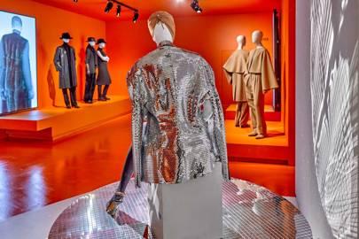 A Maison Margiela mirrorball-effect jacket