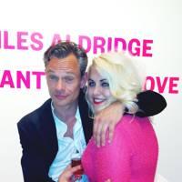 Felicity Hayward with Miles Aldridge