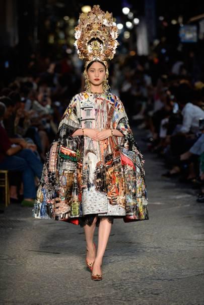 Dolce gabbana alta moda autumn winter 2015 couture for Alta couture