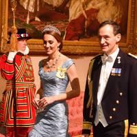 The Duchess of Cambridge in Alexander McQueen