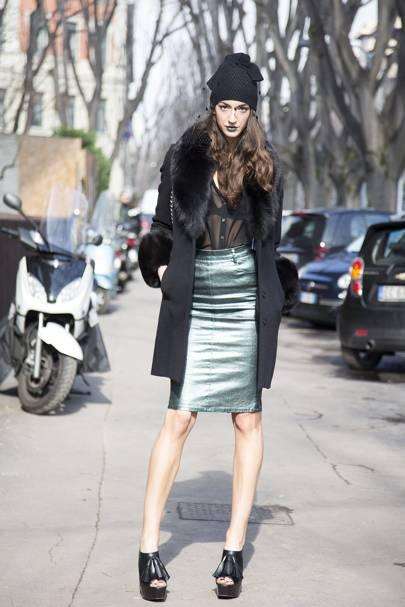 Sara Nicole Rossetto, model