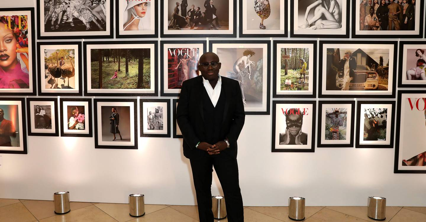Vogue Celebrates One Year Anniversary Of Edward Enninful As Editor-In-Chief