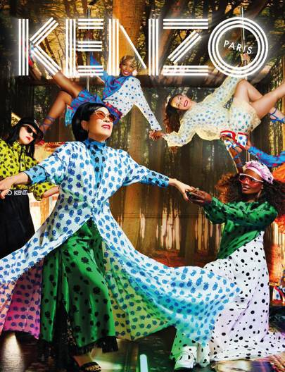 3bd820306 David LaChapelle On Recruiting Humberto Leon's Mum For Kenzo's SS19 Campaign