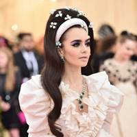 Lily Collins Took Summer's Big Accessory Trend To New Heights