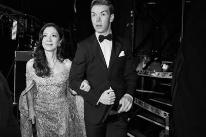 Michelle Yeoh and Will Poulter