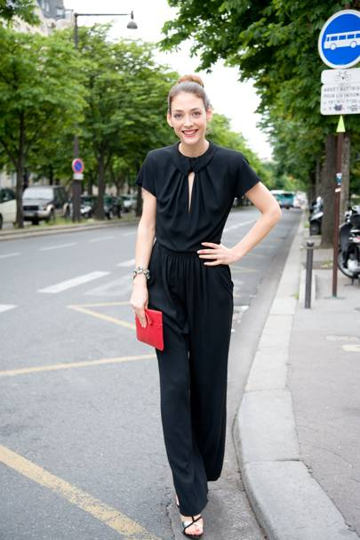 Agathe Gauthier, store manager