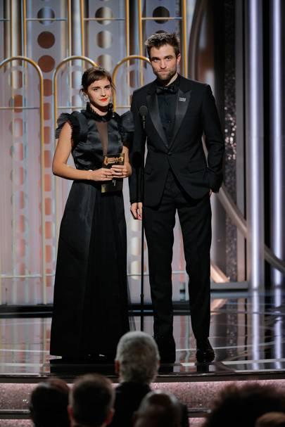Emma and Robert have a magic moment