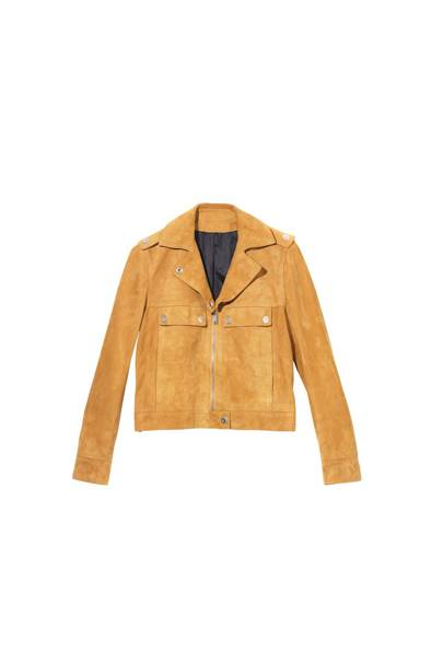 The Suede Jacket: