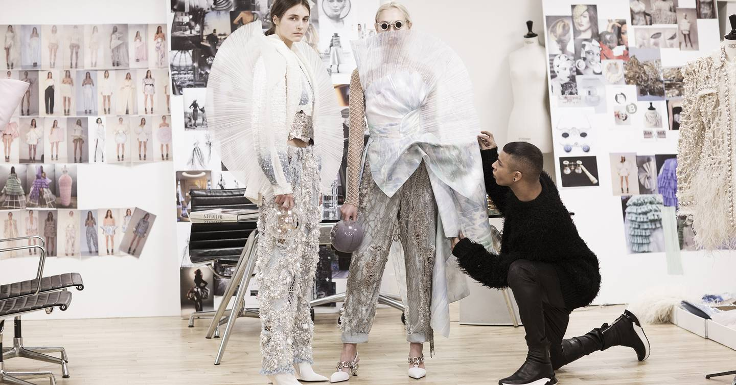 e31f31e5cc65 Balmain s First Couture Show Under Olivier Rousteing