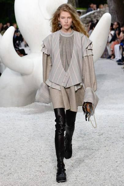 Louis Vuitton Debuts Grace Coddington Collaboration At Cruise 2019 Show British Vogue