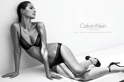 Christy Turlington for Calvin Klein, 2013