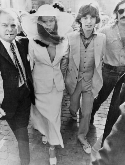 Bianca Jagger, 1971