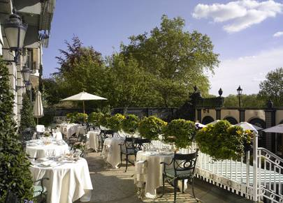 The Restaurant Terrace at The Ritz
