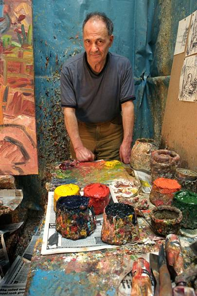 Painter Frank Auerbach talks to Vogue as a major