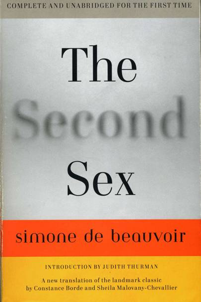 The Second Sex by Simone de Beauvoir