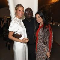 Gwyneth Paltrow, Elizabeth Saltzman and friends toast Goop's 10th Anniversary, London - October 8 2018