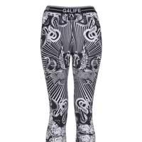 Mono print leggings, £25