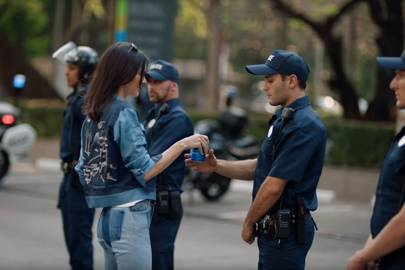 Pepsi draws outrage for ad depicting Kendall Jenner at protest