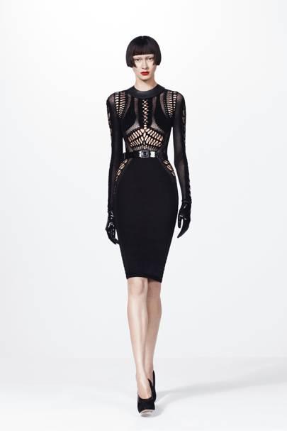Z spoke black dress jc
