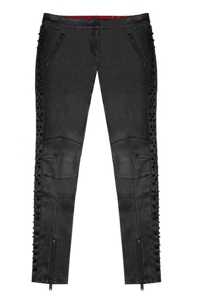 Leather trousers, £750