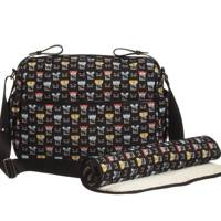 Fendi Graphic Faces baby changing bag